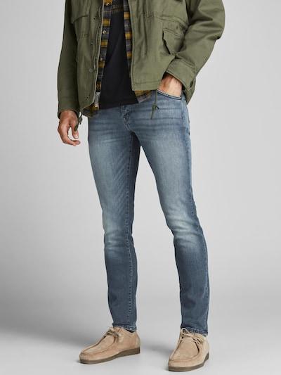 JACK & JONES Jeans 'Glenn Fox' in blue denim, Modelansicht