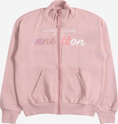 Hanorac UNITED COLORS OF BENETTON pe mai multe culori / roz pal / alb, Vizualizare produs