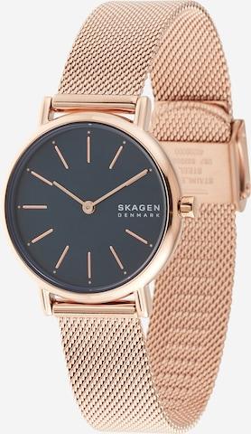 SKAGEN Armbanduhr in Blau