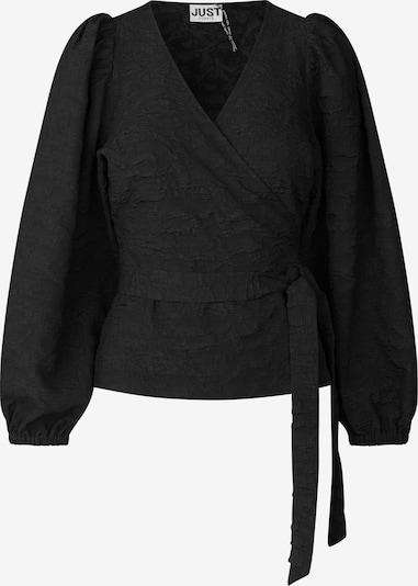 JUST FEMALE Blouse 'Toda' in de kleur Zwart, Productweergave