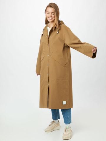 Samsoe Samsoe Between-seasons coat in Brown