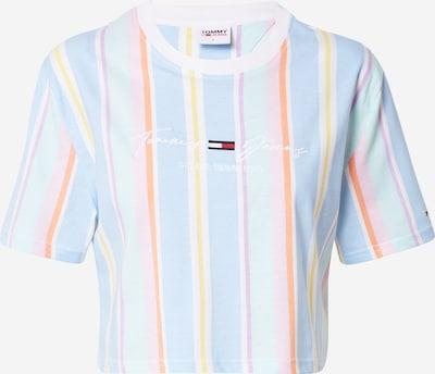 Tommy Jeans Shirt in de kleur Lichtblauw / Gemengde kleuren, Productweergave