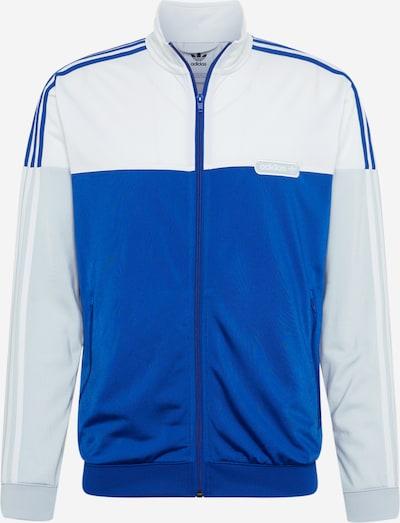 ADIDAS ORIGINALS Sportiska jaka 'Split Firebird' zils / opālisks / balts, Preces skats