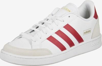 ADIDAS PERFORMANCE Sportschuh 'Grand Court SE' in grau / rot / weiß, Produktansicht