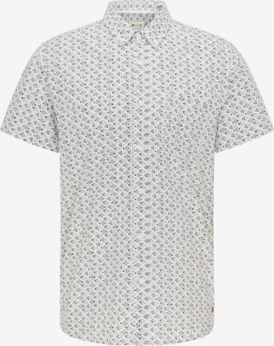 MUSTANG Hemd ' Kurzarmhemd ' in schwarz / weiß, Produktansicht