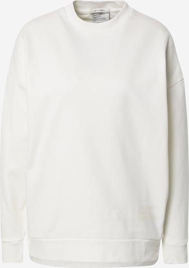 Goldgarn Sweatshirt in weiß, Produktansicht