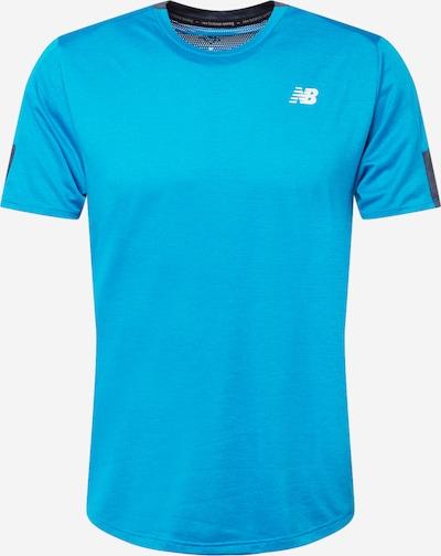 new balance Camiseta funcional 'FAST FLIGHT' en turquesa / blanco, Vista del producto