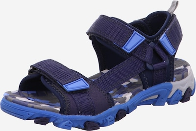 SUPERFIT Open shoes in Blue / Dark blue, Item view
