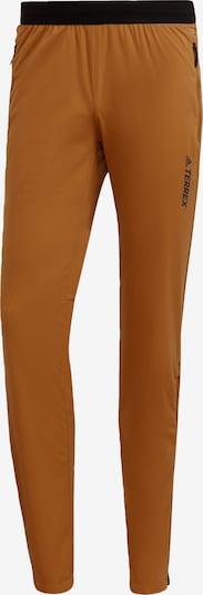 ADIDAS PERFORMANCE Sporthose 'TERREX Xperior' in karamell / schwarz, Produktansicht