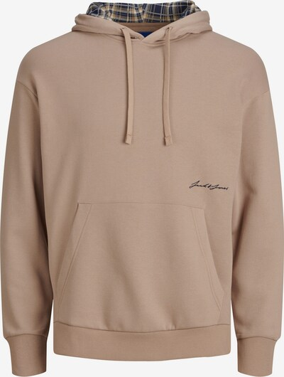 JACK & JONES Sweatshirt in beige, Produktansicht