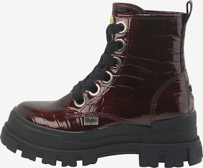 BUFFALO Lace-Up Ankle Boots 'ASPHA LACE UP HI' in Red, Item view