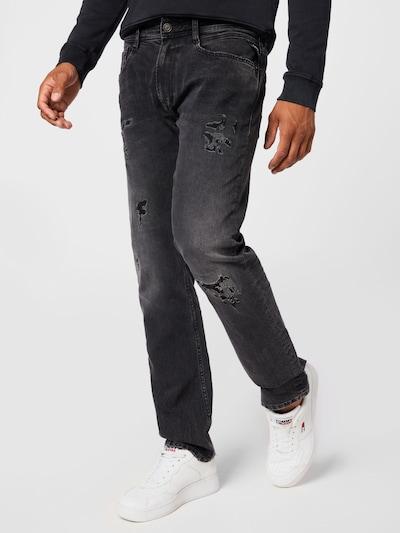 REPLAY Jeans 'ROCCO' in grey denim, Modelansicht