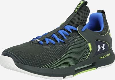 UNDER ARMOUR Sportschuhe 'HOVR Rise 2' in blau / dunkelgrün, Produktansicht