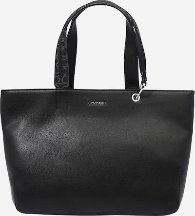Calvin Klein Nákupní taška 'Accent' - šedá / černá / stříbrná, Produkt