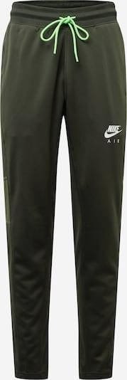 Nike Sportswear Hose in khaki / oliv / weiß, Produktansicht