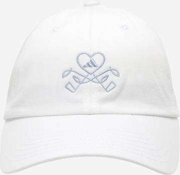 Șapcă sport de la adidas Golf pe alb