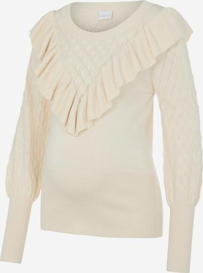 MAMALICIOUS Umstandspullover in beige, Produktansicht
