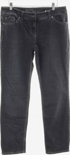 GERRY WEBER Straight-Leg Jeans in 30-31 in dunkelgrau: Frontalansicht