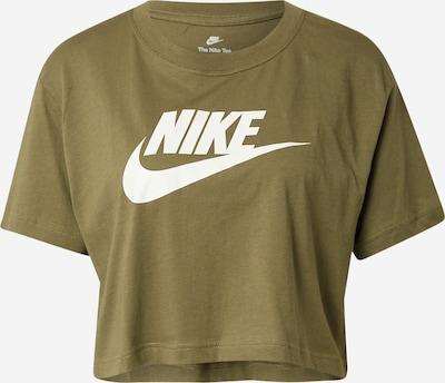 Nike Sportswear Majica u maslinasta / bijela, Pregled proizvoda