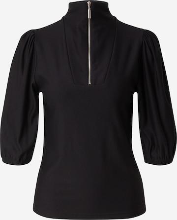 Gestuz Tričko 'Rifa' - Čierna