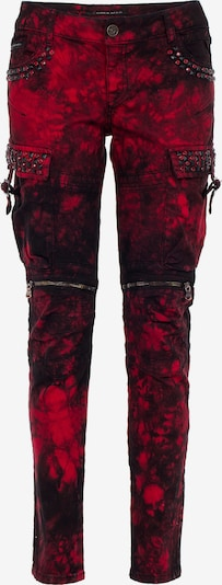 CIPO & BAXX Jeans in rot, Produktansicht