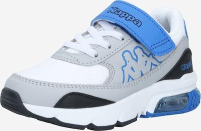 KAPPA Sneaker 'HARLEM' in blau / grau / schwarz / weiß, Produktansicht