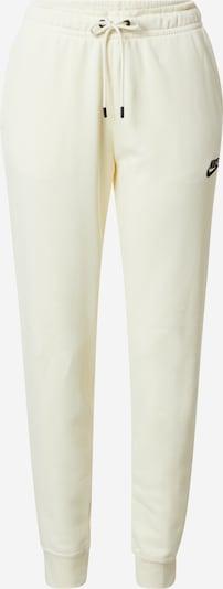Nike Sportswear Панталон в бяло: Изглед отпред