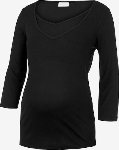 MAMALICIOUS T-shirt 'Sanny' en noir, Vue avec produit