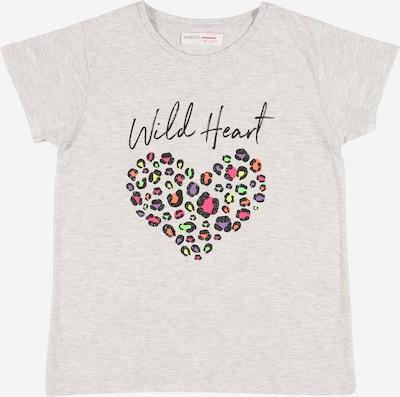 MINOTI T-Shirt en gris clair / mélange de couleurs / noir, Vue avec produit