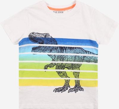 BLUE SEVEN Shirt in de kleur Blauw / Duifblauw / Lichtblauw / Geel / Lichtgroen / Wit, Productweergave