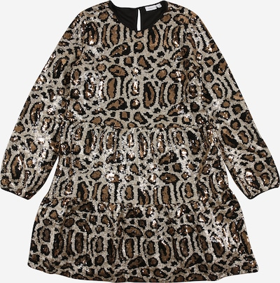 NAME IT Kleid 'RHANTI' in beige / hellbraun, Produktansicht