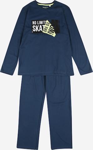 SANETTA Pyjama in Blau