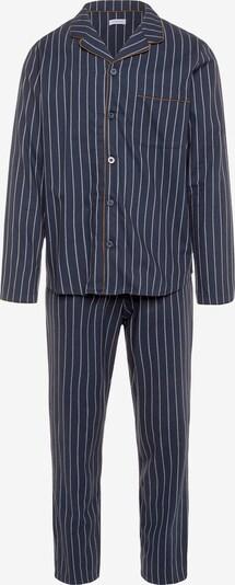 SEIDENSTICKER Langarm Pyjama ' Polarlights ' in dunkelblau, Produktansicht
