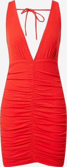 Parallel Lines Kleid in feuerrot, Produktansicht