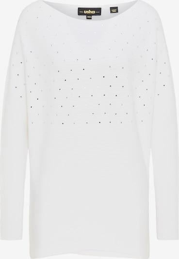 usha BLACK LABEL Pullover in weiß, Produktansicht