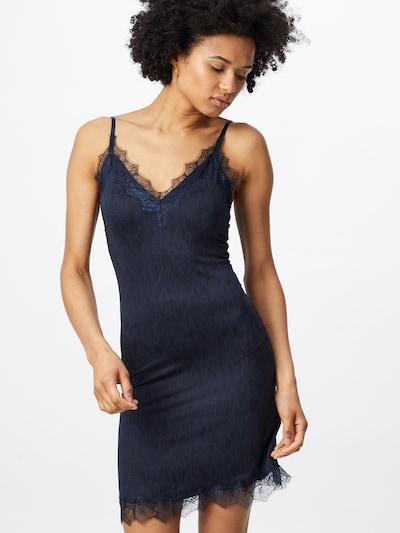 rosemunde Robe de cocktail 'Strap' en bleu / bleu foncé, Vue avec modèle
