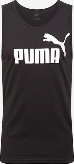 PUMA Funkční tričko - černá / bílá, Produkt