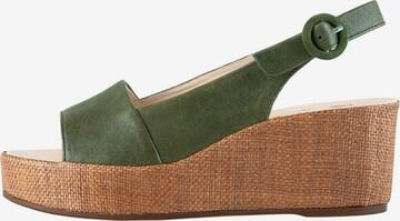 Högl Sandale 'Seaside' in Grün