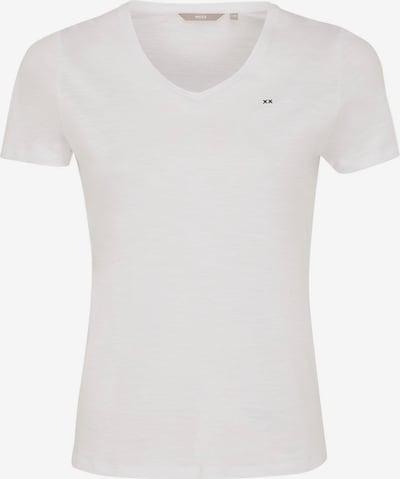 MEXX T-Shirt in schwarz / weißmeliert, Produktansicht