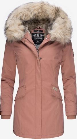 NAVAHOO Winter Parka 'Cristal' in Pink