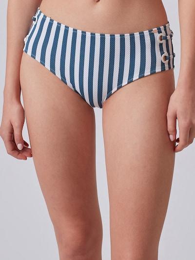 Skiny Spodní díl plavek - noční modrá / bílá, Model/ka