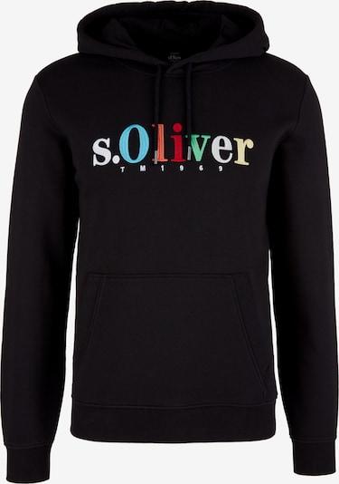 s.Oliver Sweatshirt in mischfarben / schwarz, Produktansicht