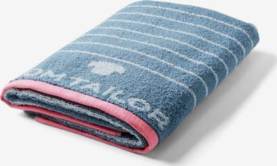 TOM TAILOR Handtuch in blau, Produktansicht