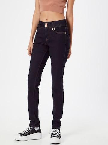 PULZ Jeans Teksapüksid 'Suzy', värv sinine
