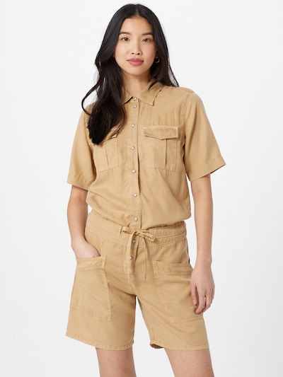 Pepe Jeans Jumpsuit 'TORY' in sand, Modelansicht