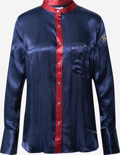 La Martina Chemisier en bleu marine / rouge, Vue avec produit