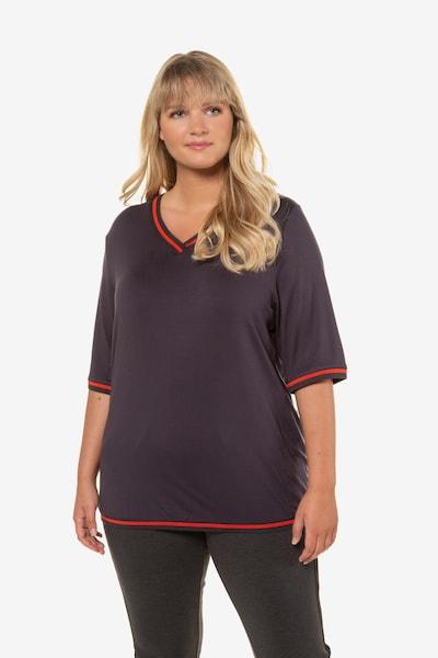 Ulla Popken Shirt in grau: Frontalansicht