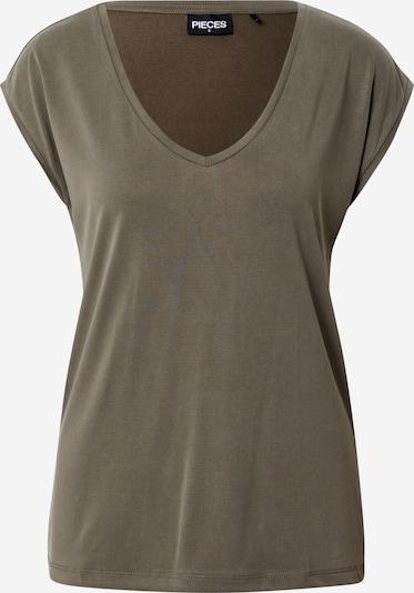 PIECES T-Shirt in khaki, Produktansicht