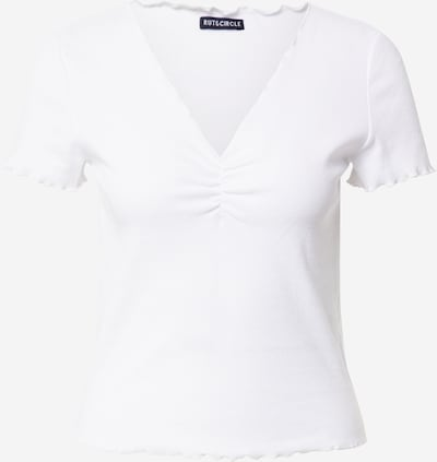 Rut & Circle T-Krekls 'LINN', krāsa - gandrīz balts, Preces skats