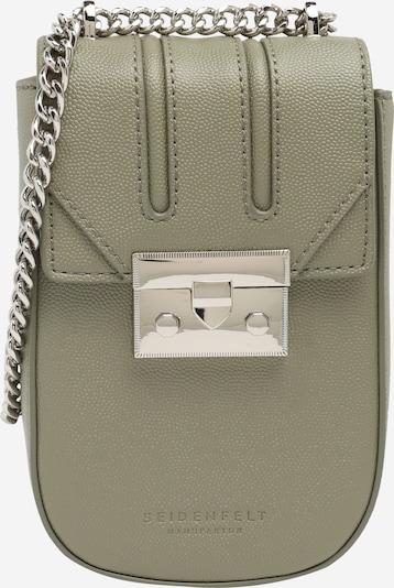 Seidenfelt Manufaktur Tasche 'Roros' in grün, Produktansicht